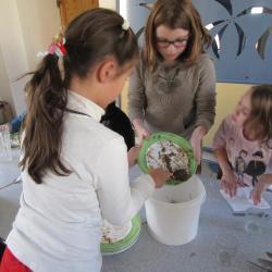 La cantine de Guillestre lutte contre le gaspillage alimentaire