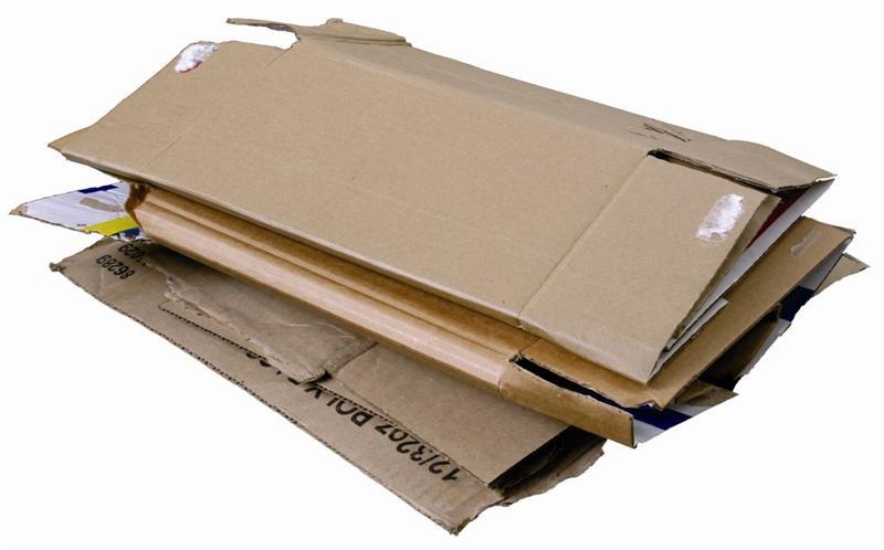 Cartons pliés