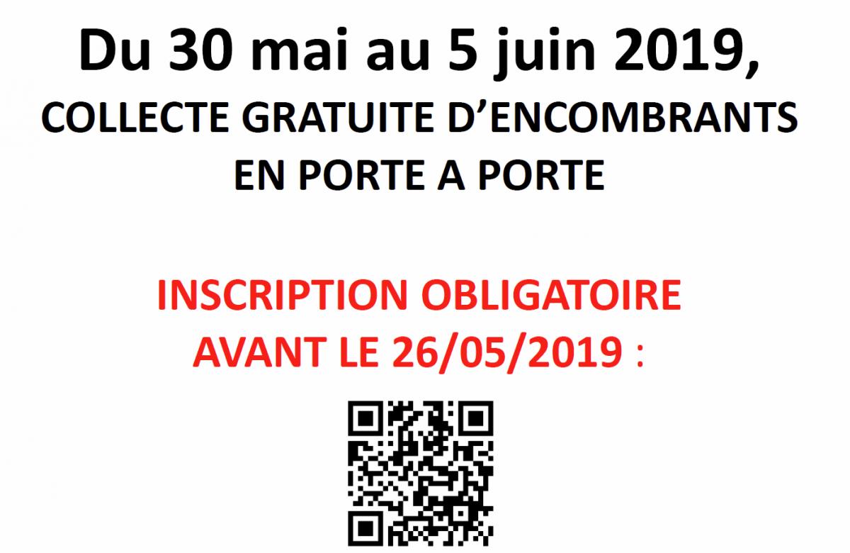 Lamiraille affiche collecte encombrant 2019 mai