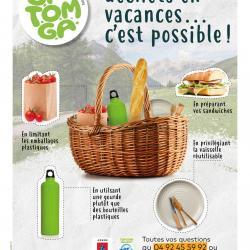 Réduire nos déchets en vacances, c'est possible !